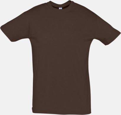 Chocolate Billiga herr t-shirts i rmånga färger med reklamtryck