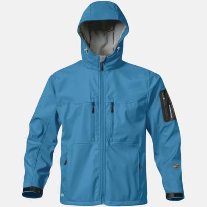 Cool Blue Riktigt fina soft shell jackor med reklamtryck