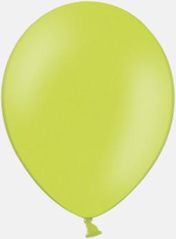 Lime Green 014 (PMS 360) Ballonger med tryck