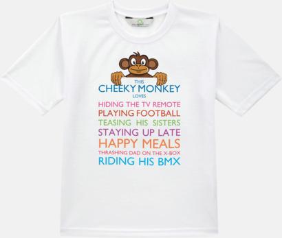 T-shirt med specialtryck för åldrarna 3-14 år