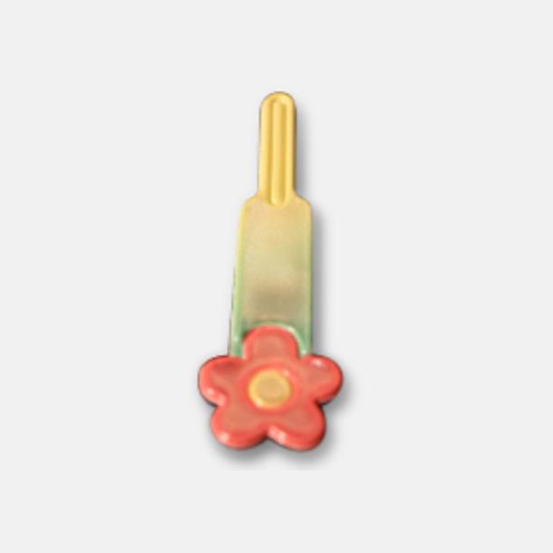 Flower Reflex att fästa i dragkedjan