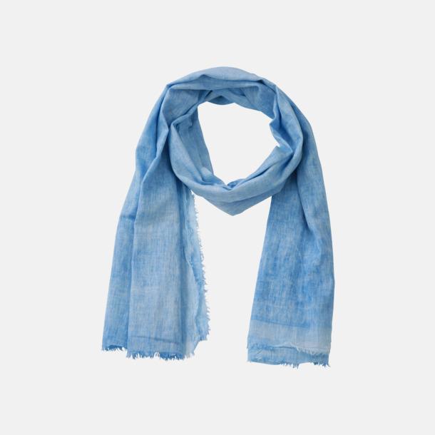 Blue Horizon Mjuka bomullsscarfar med reklambrodyr