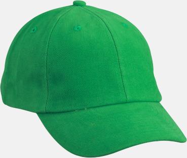 Fern Green Klassisk keps med egen brodyr