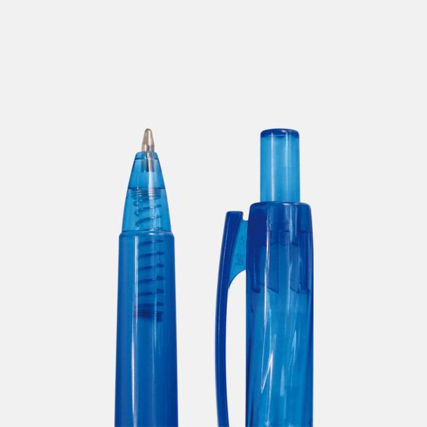 Pennor av återvunna flaskor med reklamtryck