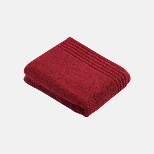 Ruby Handdukar i 3 storlekar med reklambrodyr