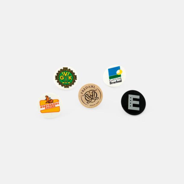 Digitaltryck Klassisk Markeringsknapp - Med reklamtryck