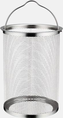 4-liters cylindergryta med sil och glaslock från Selected by Mannerström