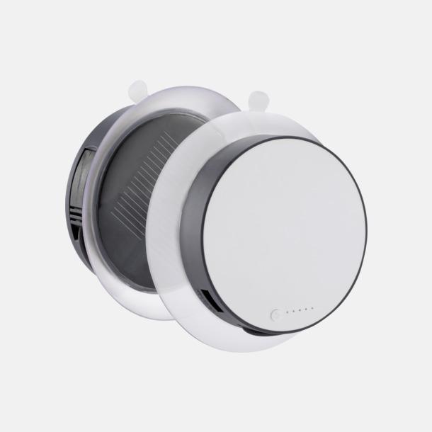 Grå Solcellsladdare med inbyggd USB-portal att fästa på fönstret