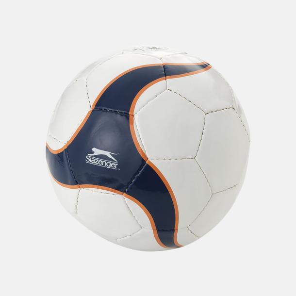 Marinblå/Orange Designade fotbollar med reklamtryck