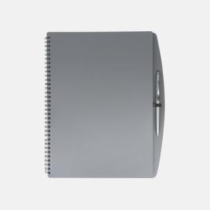 A4-block med bläckpenna - med reklamtryck