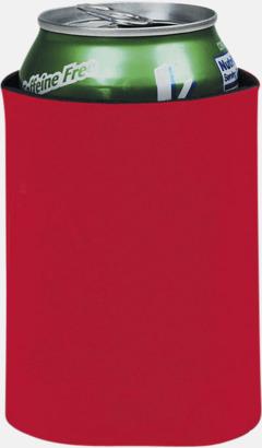 Röd Burkylare med reklamtryck