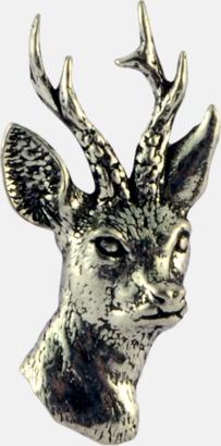 Rådjur Engelska, handgjorda broscher med jaktmotiv