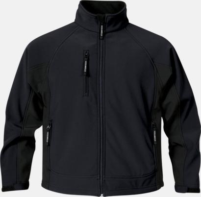 Svart (herr) Kvalitetsjackor i herr- & dammodell med reklamtryck