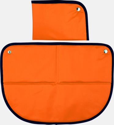 Orange Sittunderlag med eget tryck