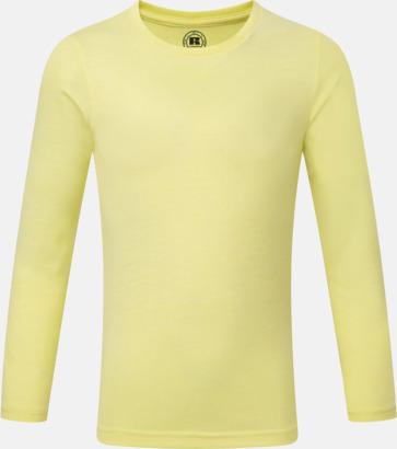 Yellow Marl (pojke) Färgstarka långärms t-shirts i herr-, dam och barnmodell
