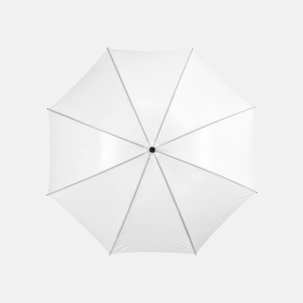 "Vit 30""-stormparaplyer med reklamtryck"