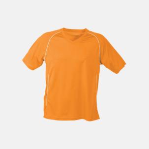 T-shirt i funktionsmaterial med eget tryck