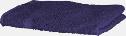 Purple Exklusiva handdukar med egen brodyr