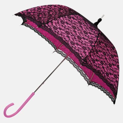Magenta Unika paraplyer med eget tryck