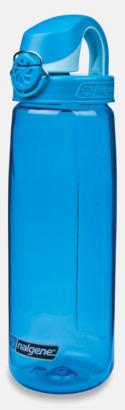Blå Enhandsvänlig vattenflaska
