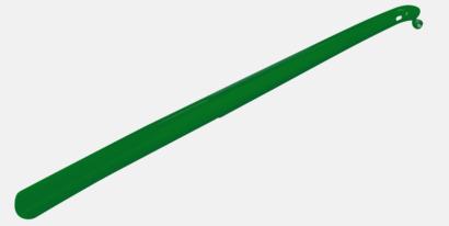 Grön Långa skohorn med tryck