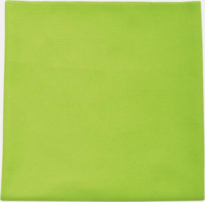 Apple Green Sportiga microfiberhanddukar i 3 handdukar med reklambrodyr