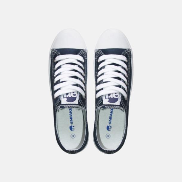 Standardfärg Blå Egendesignade sneakers