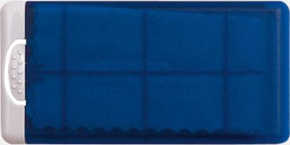 Blå Putsdukar i askar med reklamtryck