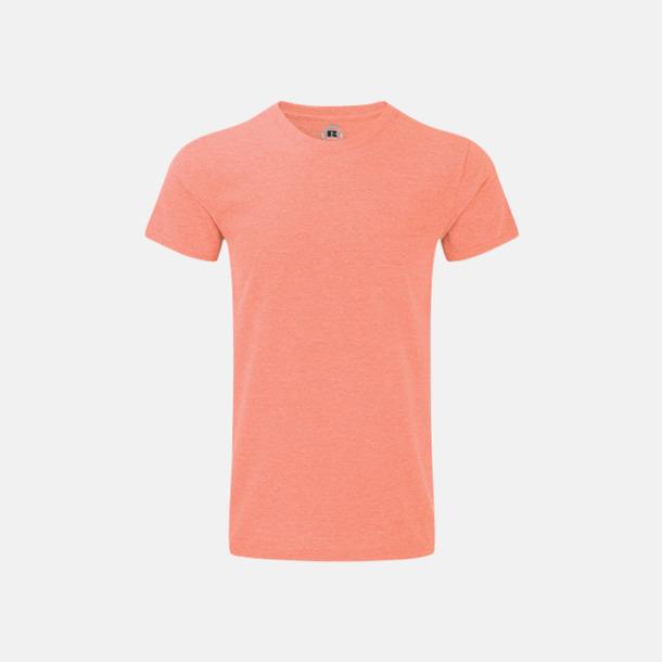 Coral Marl (herr) Färgstarka t-shirts i herr- och dammodell med reklamtryck