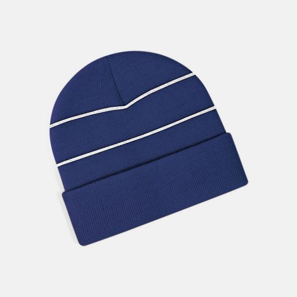 Marinblå Reflexmössor med egen bordyr