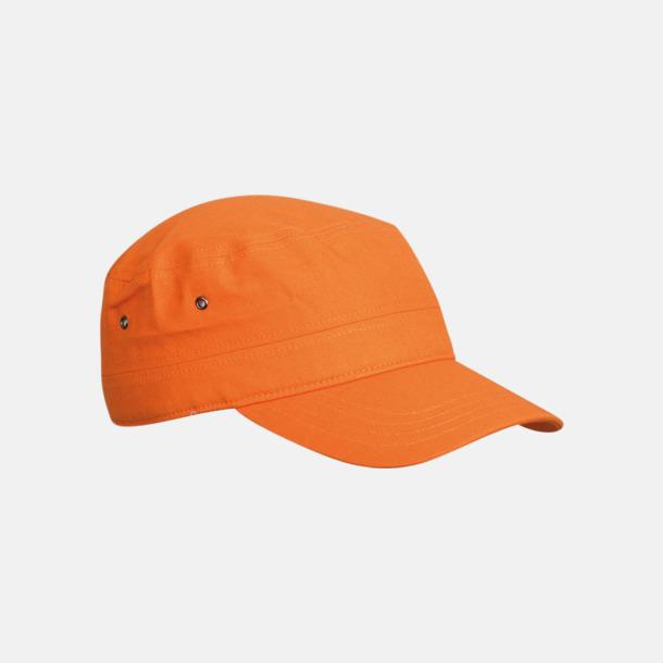 Orange Cam Army - keps i arméstil