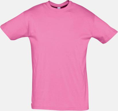 Orchid Pink Billiga herr t-shirts i rmånga färger med reklamtryck