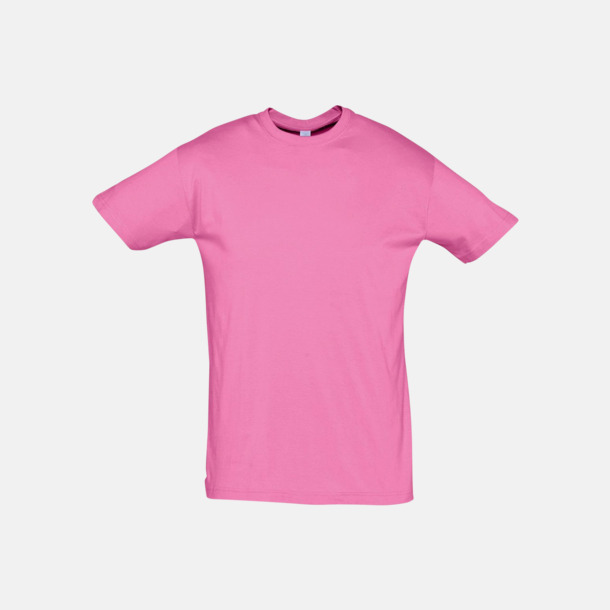 Orchid Pink Billiga unisex t-shirts i många färger med reklamtryck
