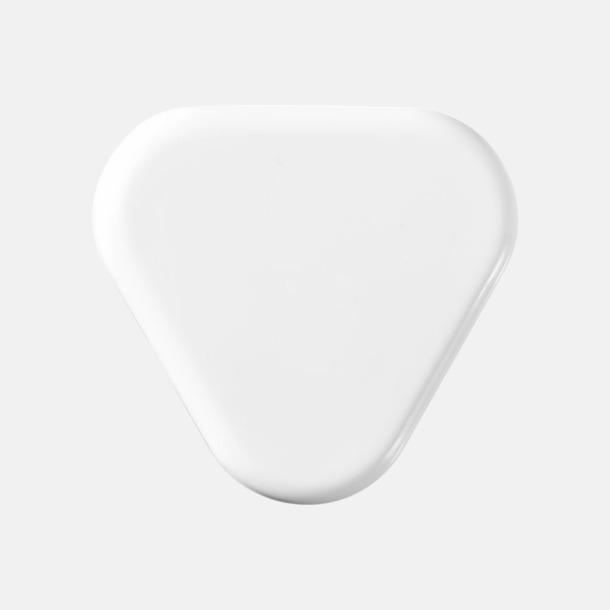 Vit (baksida) In-ear hörlurar i praktisk förpackning