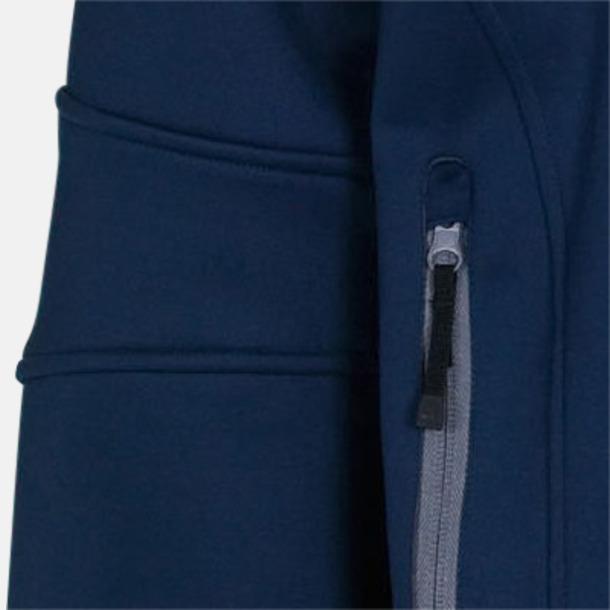Soft-shell-jackor i herr- & dammodell med reklamtryck