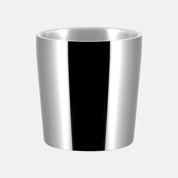 Silver (0,24 liter) Termosmuggar i två storlekar med reklamtryck