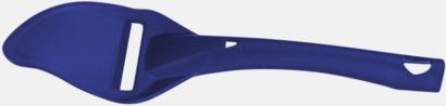Blåbärsblå Osthyvel med reklamtryck