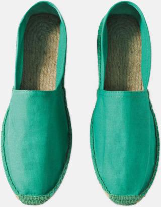 Pacific Green Sandaler i herr- och dammodell med reklamtryck