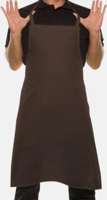 Ljusbrun (2322C) Förkläden med eget tryck