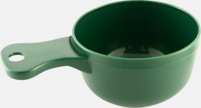 Grön Traditionella drickkåsor med tryck