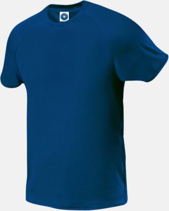 Deep Royal (endast herr) Funktions t-shirts i herr- & dammodell med reklamtryck