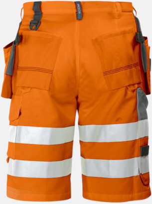 Orange (bak) Herrarbetsshorts Klass 2
