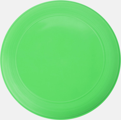 Limegrön Sportiga frisbees i många färger med reklamtryck