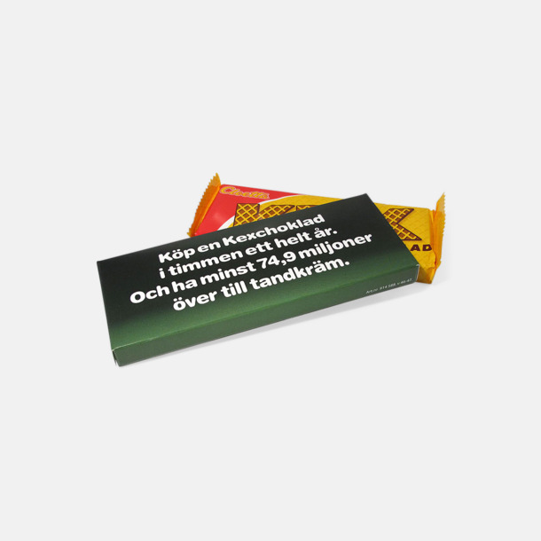 Kexchoklad med eget tryck