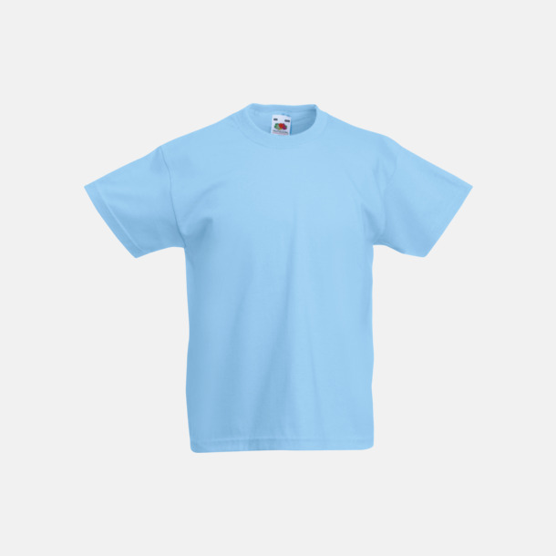 Sky Blue T-shirt barn - Valueweigth barn t-shirt