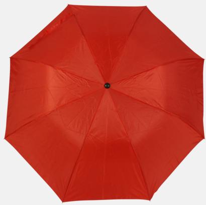 Röd (2) Kompaktparaply i många färgalternativ