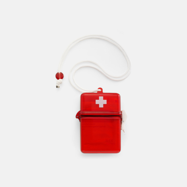 Röd / Vit Vattentät Första Hjälpen Set