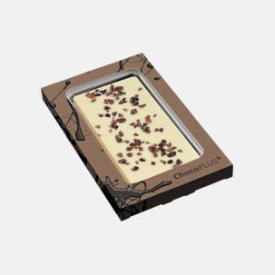Lyxiga chokladkakor i många smaker med reklamtryck