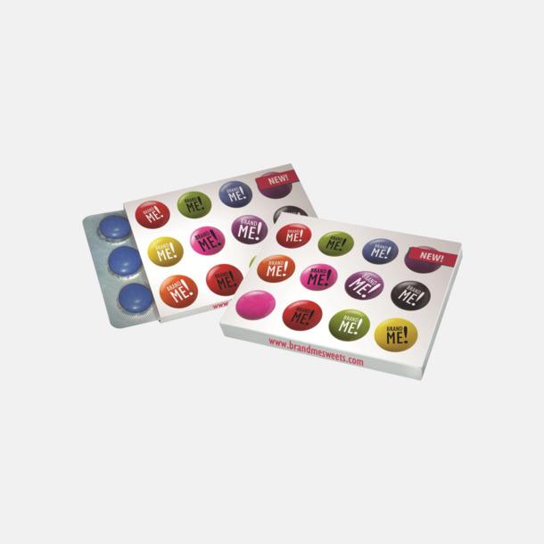 Chokladlinser i blisterpack med egen logo