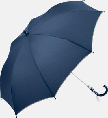 Marinblå Säkra barnparaplyer med eget tryck